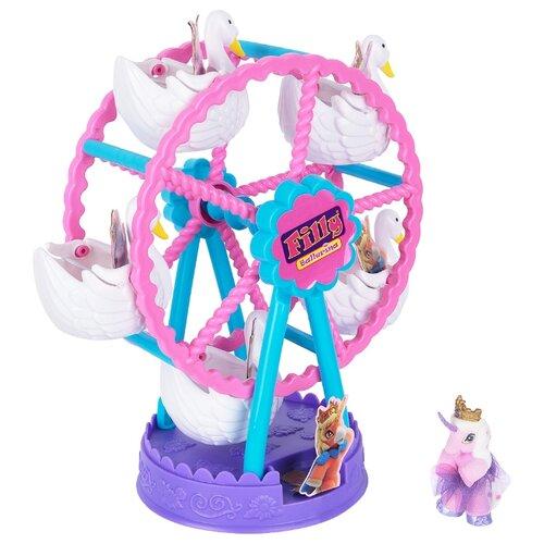 Игровой набор Filly Ballerina Swan Wheel Лебединое колесо обозрения D174005-00B0 набор звезды колесо обозрения filly dracco