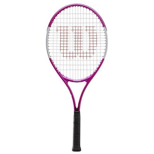 Ракетка для большого теннисаWilson Ultra Pink 23'' 0000 белый/розовый