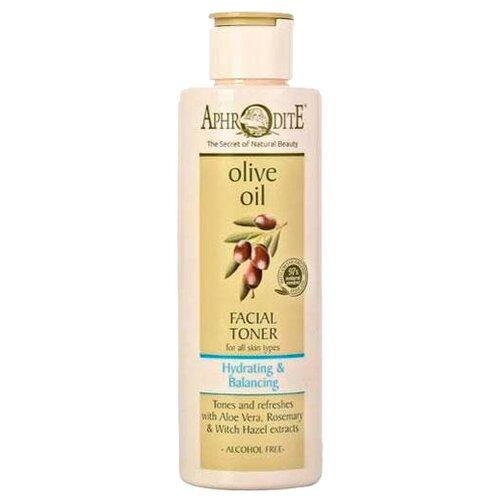 Aphrodite Тонер Olive Oil с алоэ вера и розмарином 200 мл веледа с розмарином