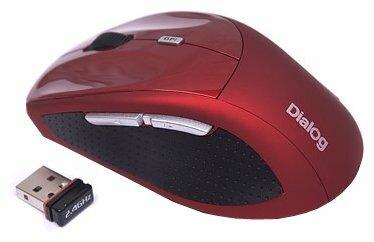 Мышь Dialog MRLK-18U Red USB