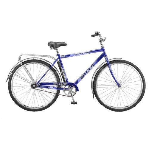 """Городской велосипед STELS Navigator 300 Gent 28 Z010 (2018) синий 20"""" (требует финальной сборки)"""