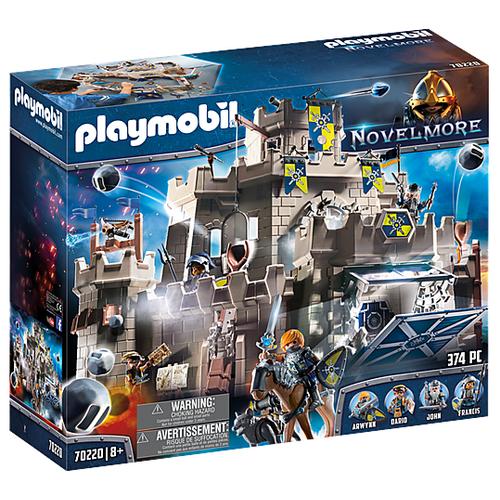 Фото - Конструктор Playmobil Novelmore 70220 Большой замок Новельмор playmobil® конструктор playmobil охотник за привидениями