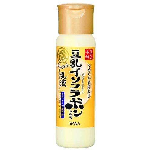 SANA Увлажняющее и подтягивающее молочко для лица с ретинолом и изофлавонами сои, 150 мл