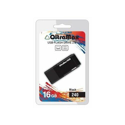 Фото - Флешка OltraMax 240 16GB black флешка oltramax 240 16gb red