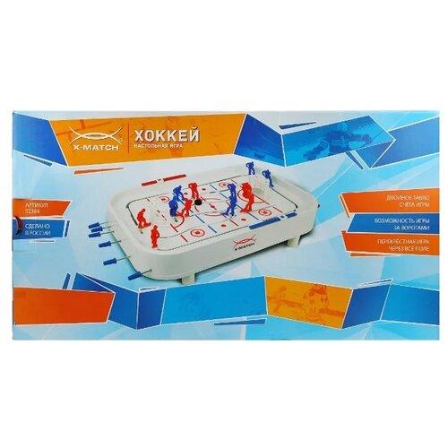 Купить X-Match Хоккей (52364), Настольный футбол, хоккей, бильярд