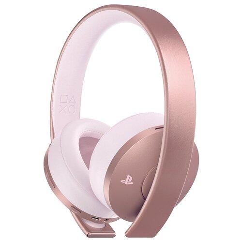 Sony Гарнитура беспроводная розовая Gold для PS4 (CUHYA-0080) rose gold