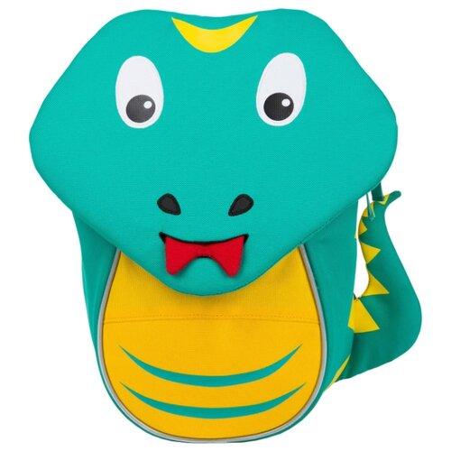 Affenzahn Рюкзак Small Friends Samuel Snake, бирюзовый/желтый