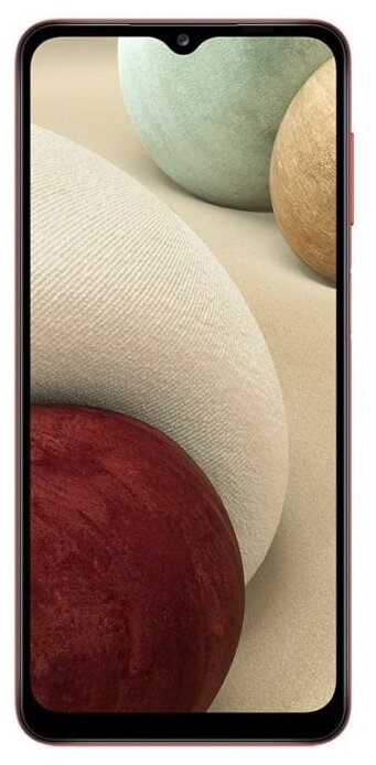 Смартфон Samsung Galaxy A12 3/32GB, красный