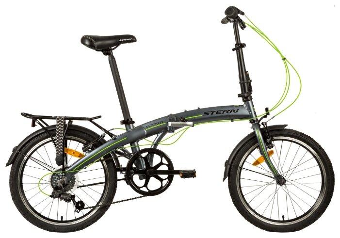 """Складной велосипед Novatrack """"Aurora"""" (цвет: коричневый, 20 дюймов)"""