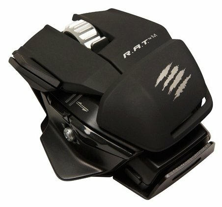Мышь Mad Catz R.A.T.M WIRELESS MOBILE GAMING MOUSE MATTE Black USB