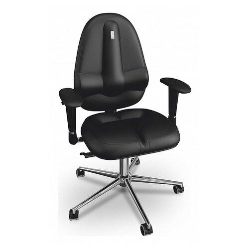 Компьютерное кресло Kulik System Classic (без подголовника), обивка: искусственная кожа, цвет: черный