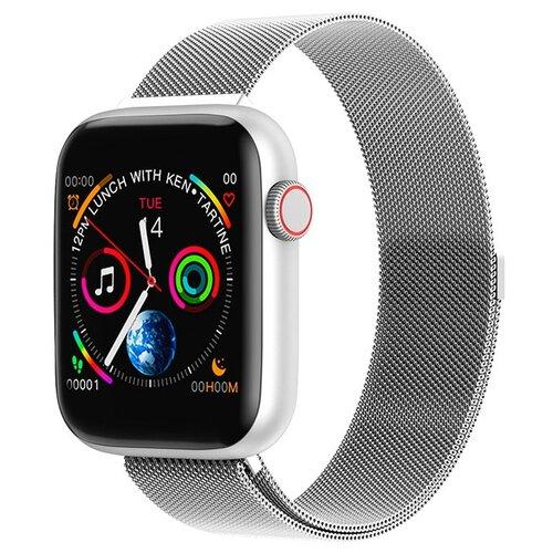 Фото - Умные часы BandRate Smart SX2222WB, серебристый умные часы beverni smart watch t58 серебристый