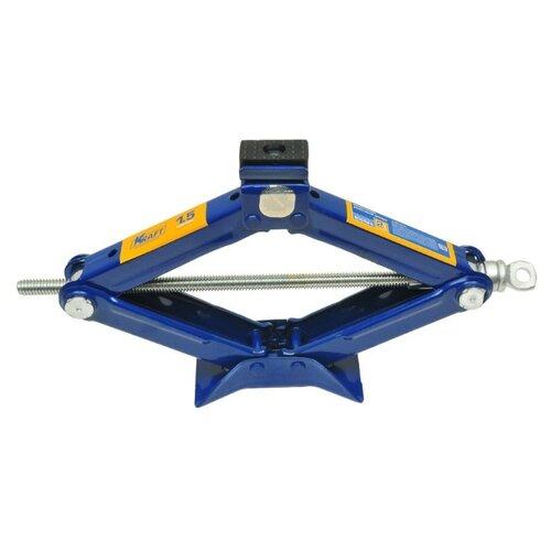 Домкрат винтовой механический KRAFT КТ 800024 (1.5 т) синий