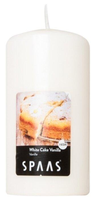 Свеча Spaas White Cake Vanilla — купить по выгодной цене на Яндекс.Маркете