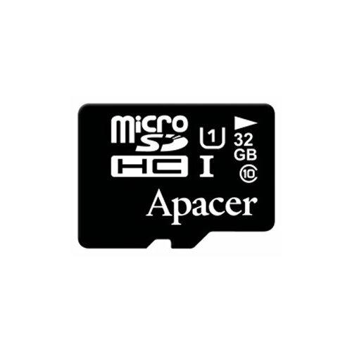 Фото - Карта памяти Apacer microSDHC Card Class 10 UHS-I U1 32 GB карта памяти microsdxc apacer 64 гб class 10 uhs i u1