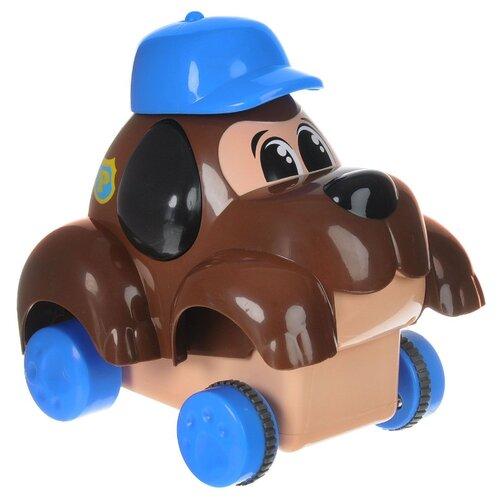 Машинка Keenway Нажми и поедет Полицейская собака (32649) коричневый keenway keenway набор инструментов защитные очки электропила молоток инструменты