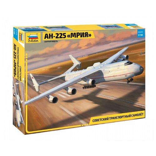 Купить Сборная модель ZVEZDA Советский транспортный самолёт АН-225 МРИЯ (7035) 1:144, Сборные модели