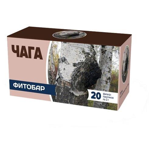 Чайный напиток травяной Соик Фитобар №32 Чага в пакетиках, 20 шт.