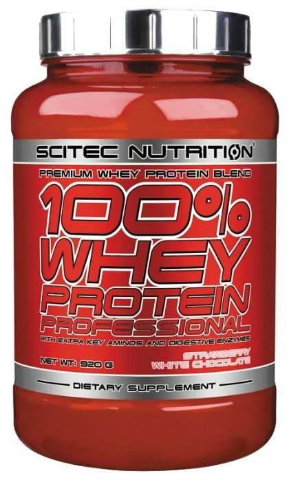 Scitec Nutrition 100% Whey Protein Professional 920 гр (Scitec Nutrition) Ваниль
