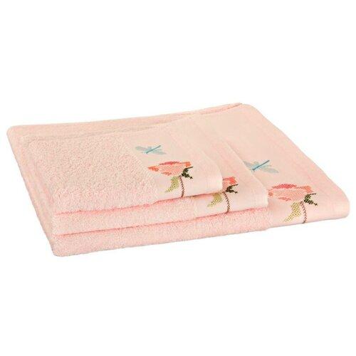 Wellness Полотенце Роза для рук 50х100 см розовыйПолотенца<br>