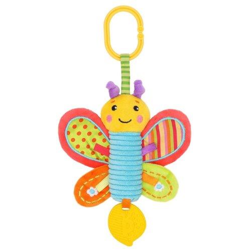 Купить Подвесная игрушка Жирафики Бабочка (939720) красный/желтый, Подвески