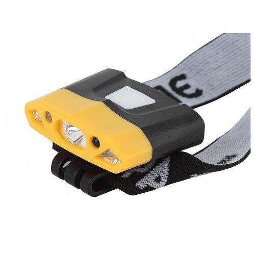 цена на Налобный фонарь ЭРА Практик GA-804 черный/желтый