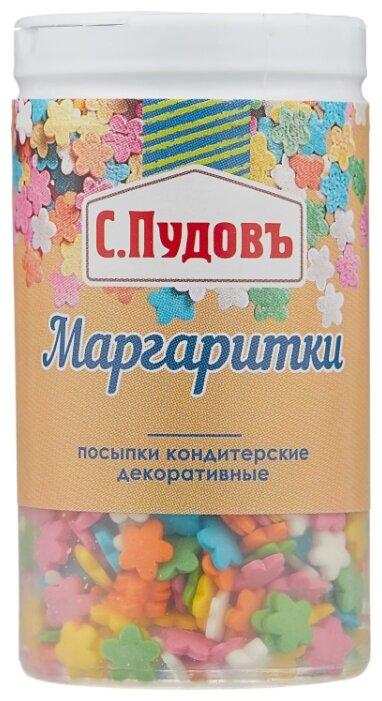 С.Пудовъ посыпки кондитерские декоративные Маргаритки 40 г