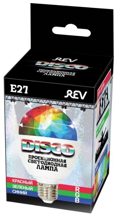 Лампа светодиодная REV E27, 3Вт