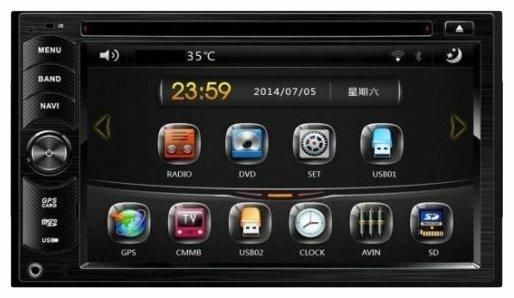 Автомагнитола ACV AVD-6400, черный фото 1