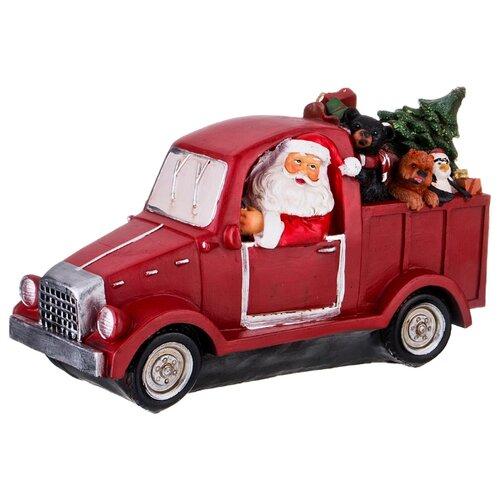 Фигурка Lefard Санта с подарками 146-1002 красный
