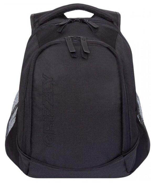 Рюкзак Grizzly RU-928-2/3 14.5 (черный) — купить по выгодной цене на Яндекс.Маркете