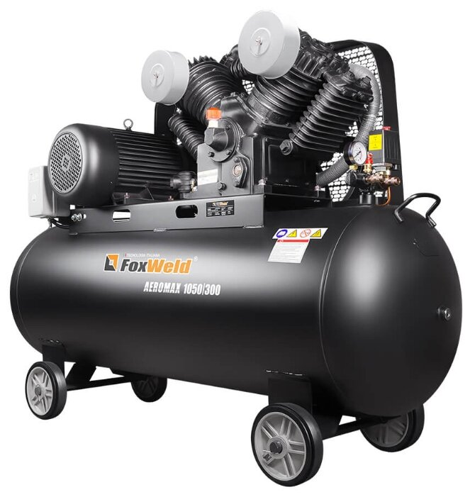 Компрессор масляный FoxWeld Aeromax 5888 1050/300, 300 л, 5.5 кВт