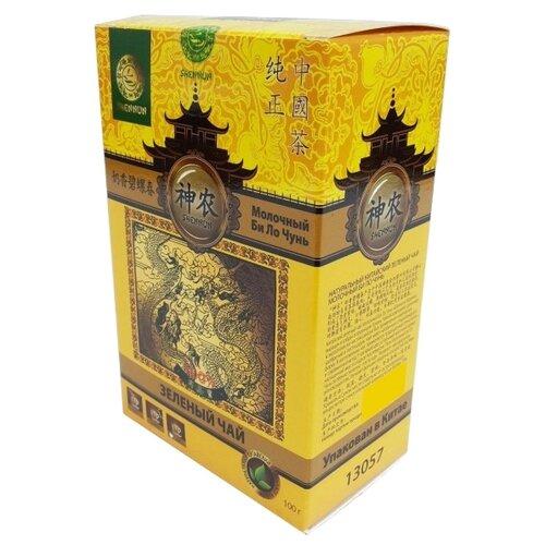 Чай зеленый Shennun Молочный Би ло чунь, 100 г shennun чай зеленый листовой 100 г