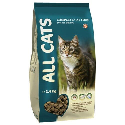 Корм для кошек ALL CATS (2.4 кг) Сухой полнорационныйКорма для кошек<br>