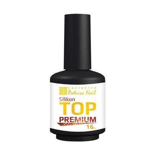 Patrisa Nail верхнее покрытие Silikon Top Premium 16 мл бесцветный opi верхнее покрытие top coat 15 мл бесцветный