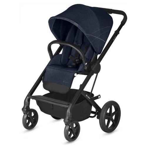 Прогулочная коляска Cybex Balios S (с дождевиком) denim blue коляска прогулочная cybex balios s denim denim blue с дождевиком