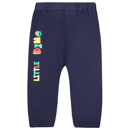 Купить Брюки Fun time размер 92, синий, Брюки и шорты