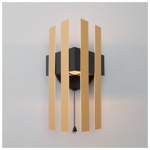 Настенный светильник Eurosvet 70116/1 черный
