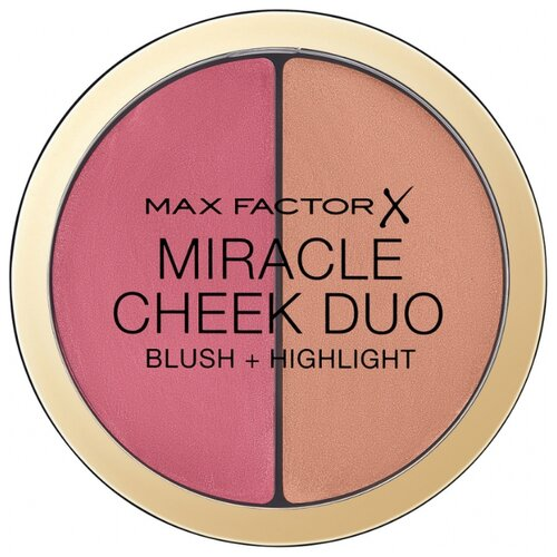 Max Factor Румяна и хайлайтер Miracle Cheek Duo 30 dusky pink & copper хайлайтер max factor max factor ma100lwbrpw6