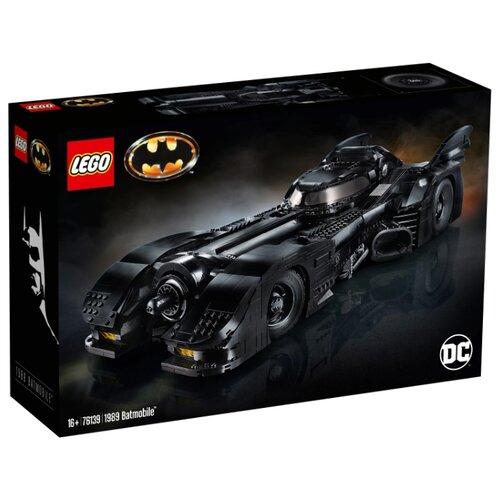LEGO DC Super Heroes 76139 1989 Batmobile lego lego super heroes 76047 преследование чёрной пантеры