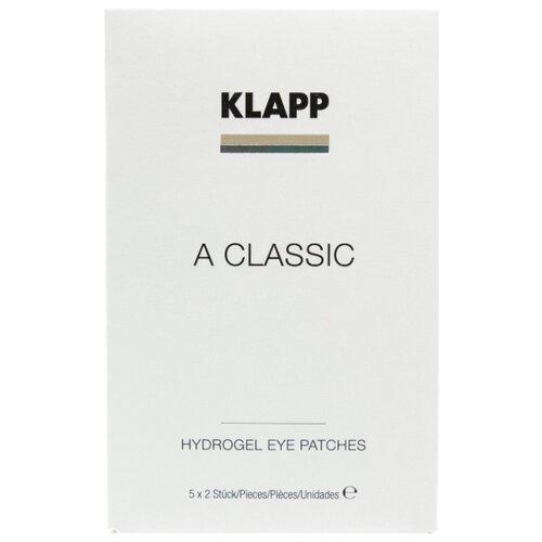 Klapp Маска-патчи для век A Classic Hydrogel Eye Patches (2 шт.) klapp маска гидрогелевая a classic hydrogel face mask 3 шт