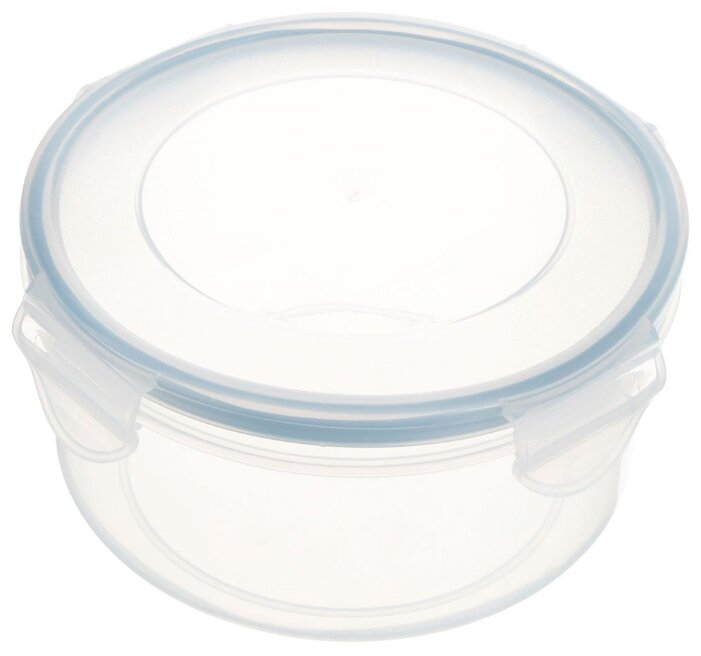 Tescoma Контейнер Freshbox 0.8 л круглый голубой/прозрачный
