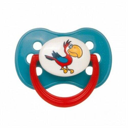 Купить Пустышка латексная классическая Canpol Babies Animals Continents 0-6 м (1 шт) бирюзовый, Пустышки и аксессуары