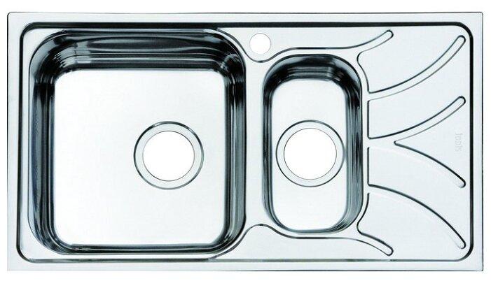 Врезная кухонная мойка IDDIS Arro ARR78SXi77 78х44см