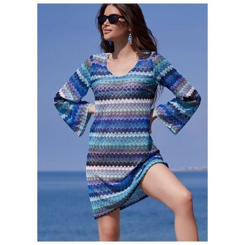Пляжная туника Mia-Mia Missoni размер L/XL(48-50) голубой комбинация mia mia mia mia mp002xw1aq3l