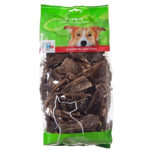 Лакомство для собак Titbit Хрустики из рубца бараньего XXL, 190 г titbit лакомство вяленое для собак кусочки легкого бараньего уп 60 г