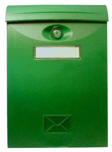 Почтовый ящик ПРОМЕТ LTP-01 345 х 240 мм зеленый