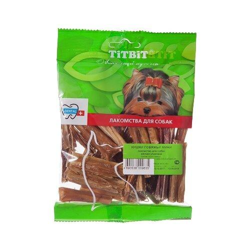 Лакомство для собак Titbit Кишки говяжьи мини, 45 г недорого