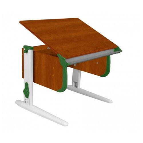 Купить Стол ДЭМИ СУТ-24 75x55 см яблоня/зеленый/белый, Парты и столы
