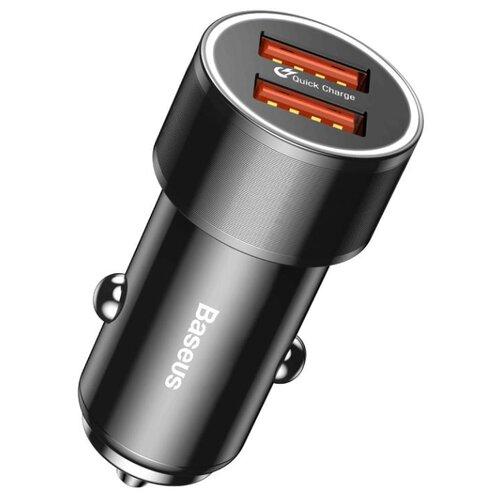 Автомобильная зарядка Baseus Small Screw 3.4A черный автомобильная зарядка baseus ccall gc01 gc09 черный